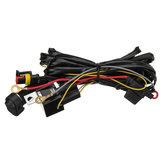 12V 40A LED Interruptor de arnés de cableado de luces antiniebla Encendido / apagado para BMW R1200GS F800GS / ADV