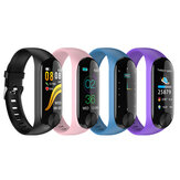 XANES® Y10 0.96'' IPS Color Screen IP67 Waterproof Smart Watch Heart Rate Monitor Message Push Sports Fitness Sports Bracelet