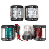 Marine Båd Yacht LED Starboard / Port / Masthead / Stern / 360 Navigation Light Set