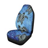 Универсальная печать черепахи Авто Van Передние чехлы на сиденья Styling Shield Heavy Duty