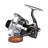 ZANLURE MIN100 1 # / 120 M 4.3: 1 Mini Ice pesca Carrete Ultra Light Spinning pesca Reel Sea pesca