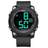 OHSEN 1710 Relógios digitais Cronômetro Alarme Desporto Militar Natação Homens LED Relógio