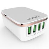 LDNIO 4 Ports USB 4.4A Chargeur Rapide EU Chargeur Mural de Voyage Pour Téléphone Portable