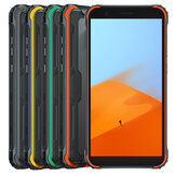 Blackview BV4900 Global Version IP68 / IP69K 5.7 بوصة NFC أندرويد 10 5580mAh 3GB 32GB Helio A22 رباعي النواة 4G الهاتف الذكي