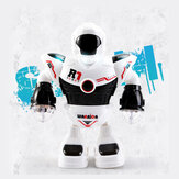 Space Police Electric Dancing Robot Children's Toy Christmas Gift