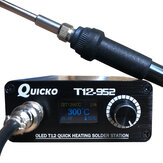 Quicko T12-952 STC OLED Soldering Station Electronic Welding Iron Soldering Iron with T12 Handle