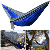 IPRee® DC-004 Upgraded Type 270x140CM Double Hammock 210T Nylon Swing Bed Max Load 250kg