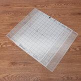 3 piezas 12 Inch rejilla de corte de rejilla adhesiva transparente para Silhouette Cameo