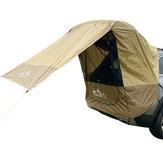 IPRee® Araba Gövde Çadır Güneşlik Kendinden Sürüş Turu İçin Yağmur Geçirmez Barbekü Outdoor Mobil Çadır