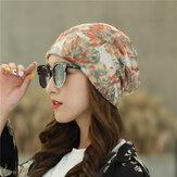 Дышащая шапка в стиле кантри с цветочным принтом