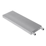 60x180x12mm Aluminum Water Cooling Block For CPU Semiconductor Cooling Radiator Heatsink