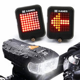 XANES 600LM German Standard Bike Front Light 64 LED Aviso de travagem inteligente Bicycle Tillill Set