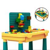 Multifunctioneel compatibel met bouwsteen-leertafel voor educatief speelgoed voor kinderen
