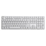 108 Anahtar Minimalist Klavye Tuş Seti Kiraz Profili PBT Mekanik için İki Renkli Kalıp Tuşları Klavye