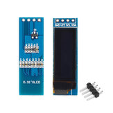 Geekcreit® 0.91 Inch 128x32 IIC I2C Blue White OLED LCD Display DIY Module SSD1306 Driver IC DC 3.3V 5V Pin Header Unsoldered