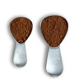 1pcscuillèresàcafécuillèreen acier inoxydable 15 / 30ml cuillère à café de sucre thé cuillère à mesurer