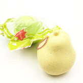 GigglesBread Squishy Pear 8,5 cm langsam ansteigende Originalverpackung Fruit Squishy Collection Geschenkdekor