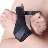 NylonElastischeOutdoorSportsHandgelenkDaumen Unterstützung Handgelenkschutz Wrap Brace Arthritis Schutztraining Guard