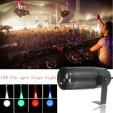 3W LED Moonflower Spotlight DJ Disco Party Club Iluminação de palco