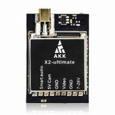 AKK X2-ultimate International 25mW / 200mW / 600mW / 1200mW 5.8GHz 37CH FPV-zender met Smart Audio