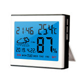 Digital LCD Weather Temperature Humidity Sensor Meter Indoor Outdoor Hygrometer