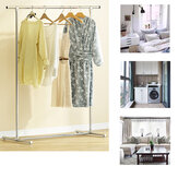 100x50x130cm Clothes Garment Rack Stainless Steel Storage Shelf Holder Hanger