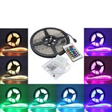 3X 5M 5050 RGB impermeável 300 LED Strip Light 24 Key Controller DC12V