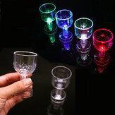 1 ADET LED Işıklı Bardaklar 50 ML Yanıp Sönen Glow Cam Kupalar Ev Partisi Düğün Dekor