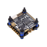 30.5x30.5 MM JHEMCU F722BT Dual F722 F7 Bluetooth Flight Controller OSD & 40A 3-6S Blheli_32 Brushless ESC compatibel DJI FPV Air Unit voor RC Drone FPV Racing