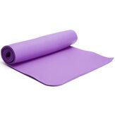 Tapete para exercícios de ioga Eco Friendly Casa Academia Pilates Floor Aptidão Tapete de ioga antiderrapante com 1 cm de espessura