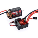 SURPASS Hobby Brush 540 13T RC Car Motor+60A ESC For 1/10 Crawler