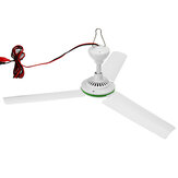 12V Soalr ceiling Fan 3 شفرة مروحة السقف