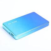 BUKING USB3.0 Disque dur externe Conception de couleur progressive Disque dur Mobile 500G 1 To 2 To pour ordinateur de bureau PC TV Console de jeu