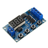 10pcs XY-J04 Trigger Cycle Time Delay Switch Circuit  Double MOS Tube Control Board Relay Module