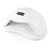 72W nieuwe witte LED UV lamptijd instellen Nail Art Dryer