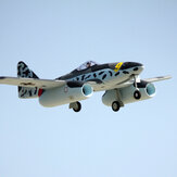 Dynam Me 262 Twin 70mm EDF Jet 1500mm Wingspan EPO RC飛行機PNP
