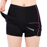WOSAWE Women's Mini Skirt MTB Bicycle Shorts With Skirt Breathable Silicone Pad For Cycling Riding