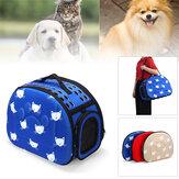 42x26x32 cm AGH Katlanır Pet Taşıyıcı Çanta Soft Kafes Köpek Kedi Omuz Çanta Çanta Seyahat Avcılık