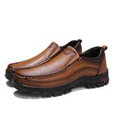 Homens Soft Mocassins casuais resistentes ao deslizamento diário de negócios sapatos casuais