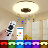 112LED Plafoniera LED RGB moderna dimmerabile full color RGB con controllo APP remoto