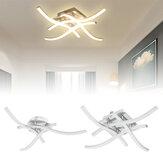 AC165-265V Moden LED 3/4 Lâmpada de teto leve Controle Remoto Cozinha