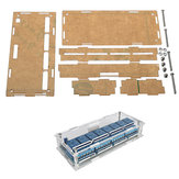 Transparent Acrylic Case Protective Housing For 8 Channel Relay Module