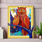 5D Diamond Painting Horse Owl Lion Embroidery Cross Stitch Kit Home Office Decorations