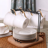 Coffee Mug 6 Cup Tree Stand Cup Hanging Rack Holder Kitchen Tidy Storage