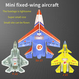 Mini SU27 / J-15 / F-22 Aeronave 300mm Wingspan Micro Warplane RC KIT / PNP