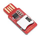3pcs SANWU HF201 lisible et inscriptible lecteur de carte TF carte micro sd / téléphone mobile carte mémoire t-flash carte module support plug and play hotplug