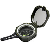 EYESKEY M2-G Outdoor Professional Geological Compass Luminous Dial Camping Tactical Flip Compass