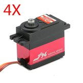 4X JX PDI-6221MG 20KG Large Torque Digital Standard Servo For RC Model