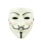V per Vendetta Guy Maschera Resina Anonimo Guy Fawkes Halloween Maschera Halloween Party Cosplay Hacker Maschera