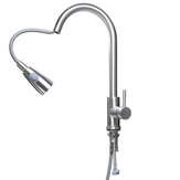 Kitchen Mixer Taps Pull Out 360 Degree Swivel Spout Spray Sink Basin Faucet